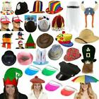 Mens Ladies Fancy Dress Hats Christmas Halloween Easter New Year Party Hat Cap