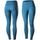 Horze Isabella Women's Silicone Full Seat Riding Tights/Skins Blue