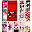 Cartoon Disney Mickey&Minnie Pattern Phone Case Cover For iP