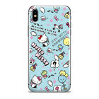 Disney Stitch Winnie the Pooh Pattern Phone Case Cover For iPhone X XR XS MAX