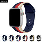 Replacement Silicone Wrist Bracelet Sport Band Strap For Apple Watch 4 3 40/44mm image
