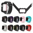 Silicone Strap Band & Cover Case For iWatch Apple Watch Series 3/2/1 38/42mm US image