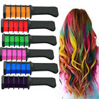 Temporary Hair Chalk Dye Comb Disposable Instant Hair Color Cream Salon DIY