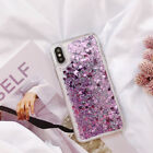 For Huawei Phone Case Dynamic Quicksand Glitter Flowing Bling Liquid Soft Cover