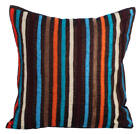 "Multi Decorative Pillow Covers 16""x16"", Art Silk Pillow Covers - Bohemian Style"
