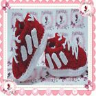 NEW Tennis Adidas Baby Sneakers shoes slippers RED crochet g