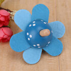 Lovely Wooden Flower Shape Spinning Top Classic Toys Kids Early Educational Toy