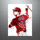 Shohei Ohtani Los Angeles Angels of Anaheim Poster FREE US SHIPPING on Ebay