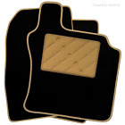Rover Mini (1997 - 2000) Tailored Car Floor Mats Black (X)