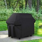 Large 152cm Black BBQ Grill Cover 4 5 6 Burner Hooded BBQ Barbecue UV Protector