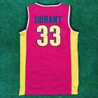Kevin Durant #35 Oak Hill Academy Men Stitched Baseketball Sewn Jersey S-2XL