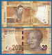 South Africa 20 Rand P New 2018 UNC Nelson Mandela Centenary 100 Commemorative