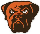 Cleveland Browns Dog Color Die Cut Vinyl Decal Sticker You Choose Size Cornhole