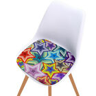 Printed Windows Seat Cushion Pad Dining Room Chait Floral Style Seating Pillow