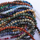 Внешний вид - Wholesale Lot Natural Gemstone Round Spacer Loose Beads 4mm 6mm 8mm 10mm 12mm