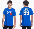 Hyun-jin Ryu Los Angeles Dodgers #99 MLB Jersey Style Mens Graphic T on Ebay