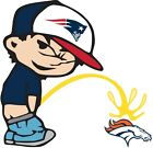 New England Patriots Piss On Denver Broncos NFL Color Vinyl Decal CHOOSE SIZES on eBay