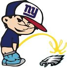 New York Giants Piss On Philadelphia Eagles NFL Color Vinyl Decal CHOOSE SIZES on eBay