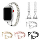 For Apple Watch Series 4 3 2 1 Women Stainless Steel Band Strap Bracelet 38 44mm image