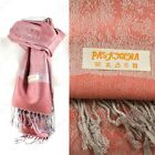 2PLY LONG 78X28 Solid Silk Pashmina Shawl Wrap Stole Cashmere Wool Silk Scarf