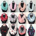 NEW Women Fashion Infinity Loop Scarf Circle Wrap Soft Light Weight All Seasons