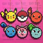 Pokemon Set 1 Christmas Pixel Baubles