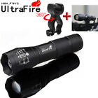 Flashlight 50000LM LED 18650 T6 LED Light Zoom Tactical Torch light