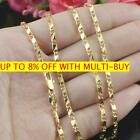 Wholesale Exquisite 18k Yellow Gold Filled 16-30 Inches Jewelry Chain Necklace