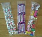 """***Cellophane bags 3x11"""" sweet tubes***UK SELLER***perfect for favours/ parties"""