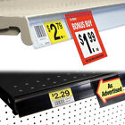 Gondola Shelf UPC Ticket Channel Label Holder Strip with Sign Grip, Wholesale