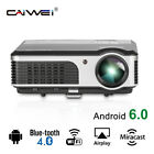 CAIWEI LED Home Theater Projector HD 1080p Xbox Movie Party HDMI Rear Projection