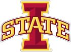 Iowa State Cyclones Color Die Cut Vinyl Decal Sticker - You Choose Size