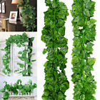 200cm Ivy Leaf Garland Green Plant Plastic Vine Foliage Home Garden Decoration