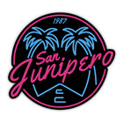 San Junipero Black Mirror 80's Tv Show Vinyl Sticker 3