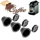 Lictin Pack Of 6 Refillable Reusable Coffee Capsule For Nespresso With 6pcs