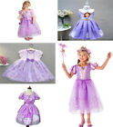 Girls Kids Sofia The First Deluxe Dress Princess Sophia Costume Party Cosplay