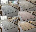 NEW 100% WOOL RUG HAND CRAFTED HIGH PILE AREA FLOOR LIVING BEDROOM MEDINA RUGS