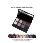 Avon True Colour 8-in-1 Eyeshadow Palette~Nudes & Blues ~ Great Gift ~ Free P&P