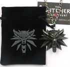 The Witcher 3 III Wild Hunt Wolf Necklace Medallion Gamer Fan Collector's Head U