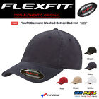 FLEXFIT Low Profile Fitted Washed Cotton Dad Hat Blank Garment Baseball Cap 6997