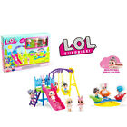 LOL Surprise Girl Doll Park House Game Slide Spielset Kinder Geschenk Spielzeug