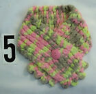 New Handmade Thick and Soft Baby Girl Toddler Button Scarf