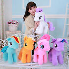 18/25cm My Little Pony Horse Large Stuffed Plush Soft Teddy Doll Toys Xmas Gift