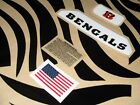 CINCINNATI BENGALS Football Helmet Decal Set 3M 20MIL on eBay