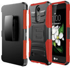 Fits LG Stylo 4 /LG Q Stylus Case Cover Rubber Protective Cover + Tempered Glass