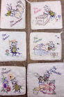 Внешний вид - VINTAGE HAND EMBROIDERED KITCHEN POTHOLDER VARIATIONS Honey Bee Cotton Hot Pads