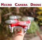 JetJat Small Mini-Drone Video LiveStream 1MP Camera Quadcopter RC Nano Mota FPV