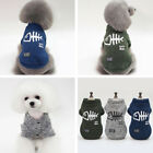 CutePet Clothes Puppy Dog Cat Fishbone Hoodie Jumper Sport Style Coat Costume A4