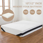 "10""/12"" Inch Twin Full Queen Size COOL & GEL Memory Foam Mattress Bedroom image"