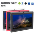 7 inch android tablet pc 4 8gb quad core 4 4 dual camera bluetooth wifi tablet